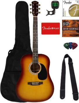 3. Fender Squier Dreadnought Acoustic Guitar