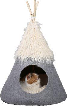 3. PetnPurr Pet Teepee Tent