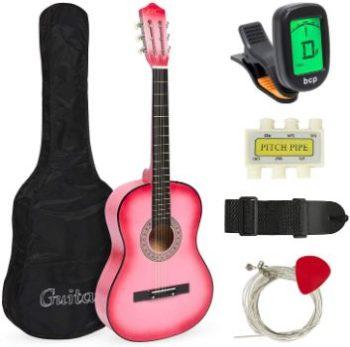 4. Medal 38in Beginner Acoustic Guitar Starter Kit