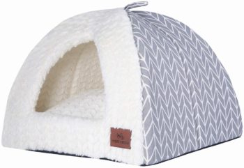 4. Miss Meow Cat Bed Triangle Tent