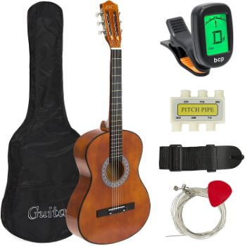6. Best Choice Products 38in Beginner Acoustic Guitar Starter Kit