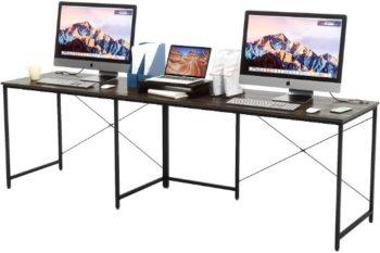 7. Bestier Adjustable Long Desk 95 Inch