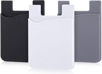 10. AgentWhiteUSA Cell Phone Wallet (3 Pieces)