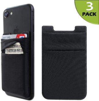 9. Lycra Wallet Pocket Credit Card ID Case Pouch Sleeve