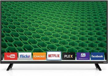 1. VIZIO 40 inch smart TV