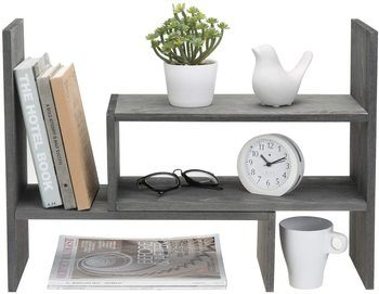 10. MyGift Desktop Bookshelves