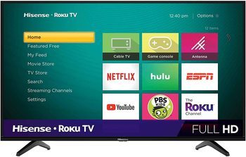 3. Hisense 40 inch smart TV