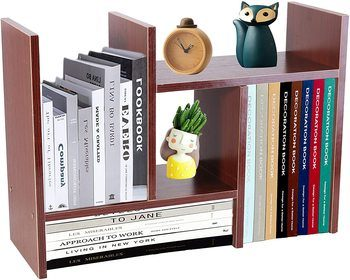 6. PENGKE Desktop Bookshelves