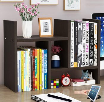 7. tiktecklab Desktop Bookshelves