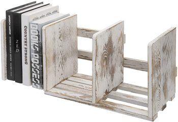 9. MyGift Desktop Bookshelves