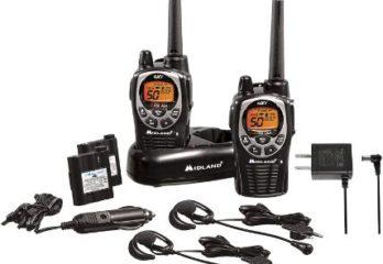 #1. Midland 50 Channel Waterproof GMRS Two-Way Radio
