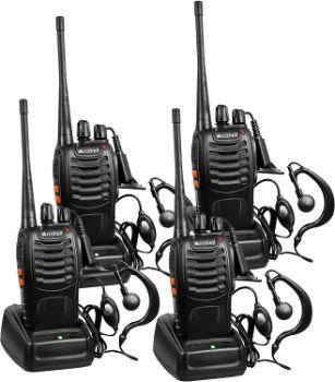 #2. Arcshell Rechargeable Long Range Two-Way Radios