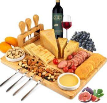 #2. ROYAMY Cheese Board Set