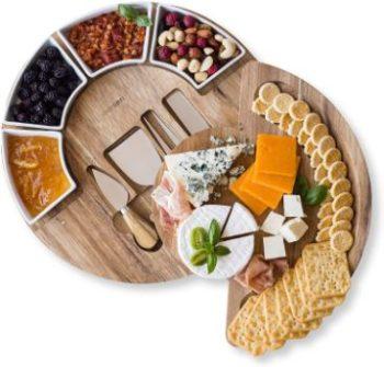 #3. ChefSofi Cheese Cutting Board Set