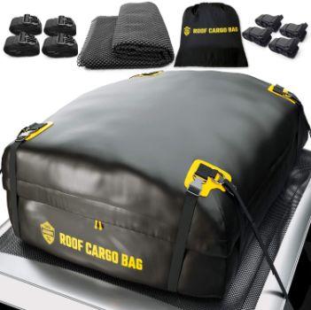 #3. ToolGuards Car Top Carrier Roof Bag