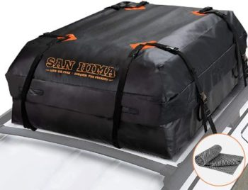 #4. FieryRed SANHIMA Roof Cargo Carrier Bag