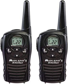 #4. Midland – LXT118, FRS Walkie Talkies