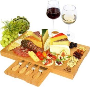 #6. ROYAL CRAFT WOOD Cheese Board