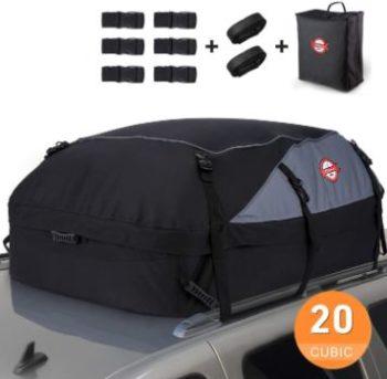 #6. Sailnovo Car Roof Bag Cargo Carrier