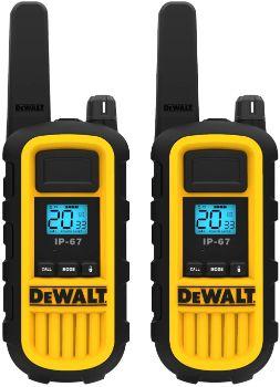 #7. DEWALT DXFRS800 2 Watt Walkie Talkies