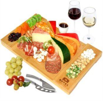 #7. ROYAL CRAFT WOOD Cheese Board