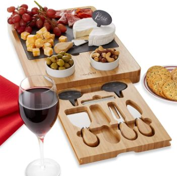 #8. Casafield Cheese Board Set
